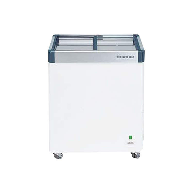 Flat Glass Chest Freezer - Freezer & Chiller