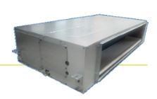 Ceiling-concealed (High Static Ducted) Indoor Unit