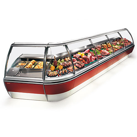 Service Counter / Meat Chiller